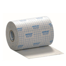 Rollflex, image of roll of nonwoven fabric dressing with white protective film