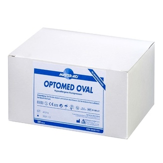 Clinical pack of Optomed oval surgical swabs