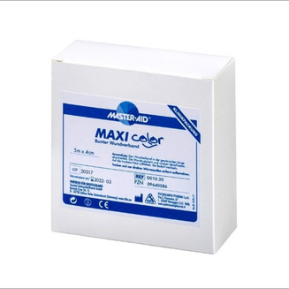 Clinical packaging (5 metre length) of Maxi color continuous dressing